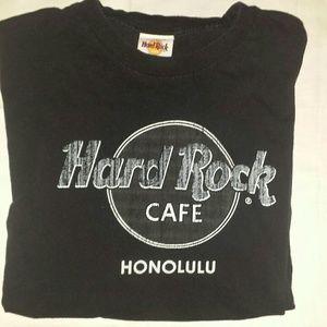 Vintage Hard Rock Cafe Honolulu 2x Black